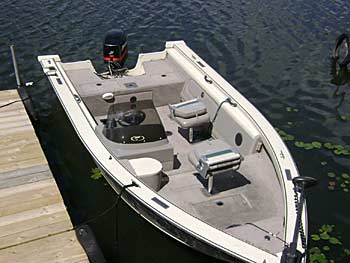 Boat Rentals at Spider Shores Resort
